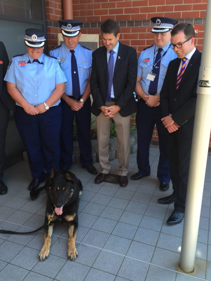 NEW DOG SQUAD KEEN TO COLLAR CRIME IN NEW ENGLAND NORTH WEST REGION