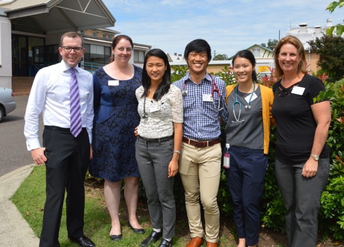 FIRST GROUP OF NEW MEDICAL INTERNS WELCOMED TO ARMIDALE HOSPITAL