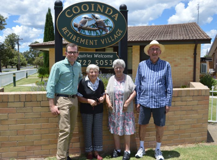 TANK PROBLEM WATERED DOWN AT COOINDA RETIREMENT VILLAGE
