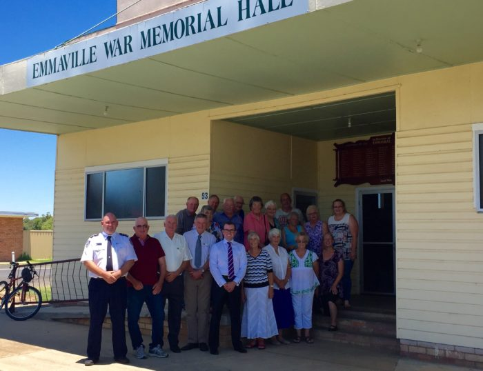 NEW ROOF ON THE WAY FOR EMMAVILLE'S WAR MEMORIAL HALL