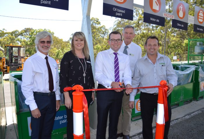 GLEN INNES COMMUNITY RECYCLING CENTRE OFFICIALLY OPENED