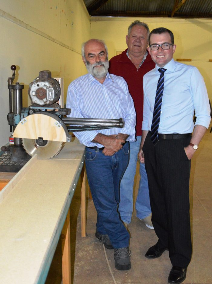 $20,500 KICK START FOR URALLA MEN'S SHED PROJECT