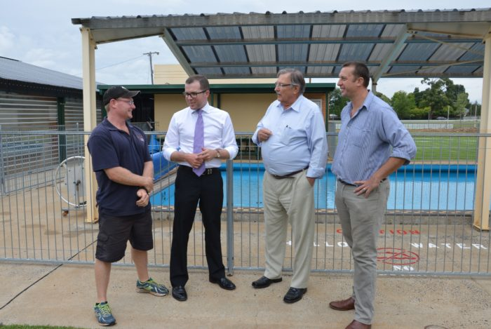 $20,000 GRANT MAKES A BIG SPLASH AT GUYRA AQUATIC CENTRE