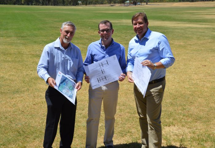 $930,000 FOR INVERELL SPORTS COMPLEX