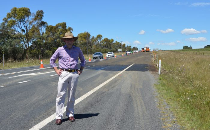 $1.3 MILLION NEW ENGLAND HIGHWAY UPGRADE UNDERWAY NEAR ARMIDALE