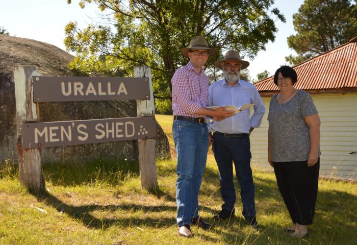 ADDITIONAL FUNDING SECURED TO SUPPORT URALLA MEN'S SHED GROWTH