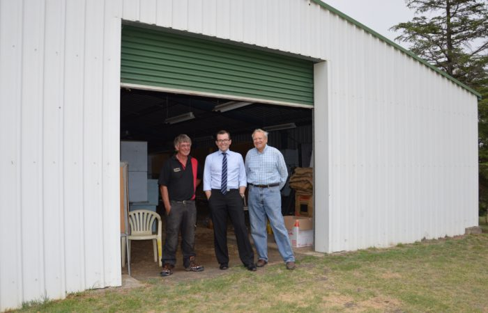 NEW TIMBER FLOOR TO SPRUCE UP URALLA SHOWGROUND PAVILION
