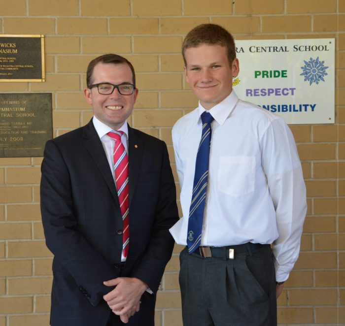 GUYRA STUDENT TO STUDY THE ANZACS ON WESTERN FRONT