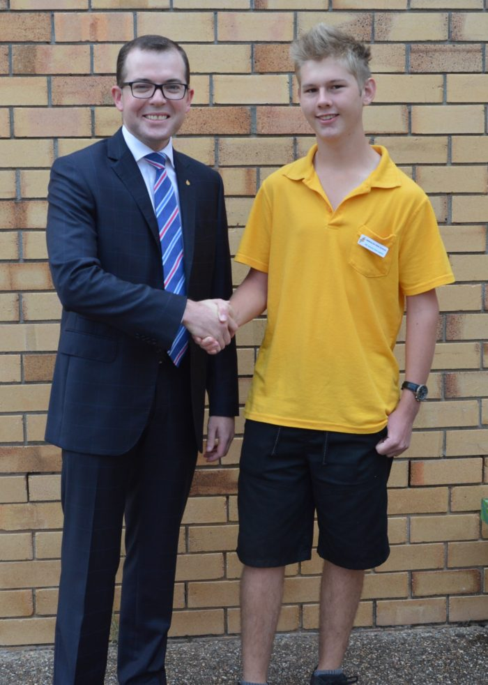 WARIALDA STUDENT TO REMEMBER THE ANZACS ON WESTERN FRONT