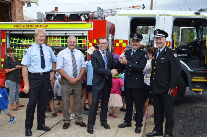 WARIALDA TAKES DELIVERY OF NEW $310,000 FIRE TRUCK
