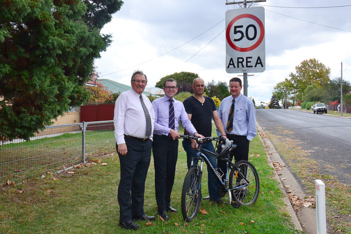 $75,000 GRANT FOR GUYRA & TINGHA FOOTPATHS & CYCLEWAYS