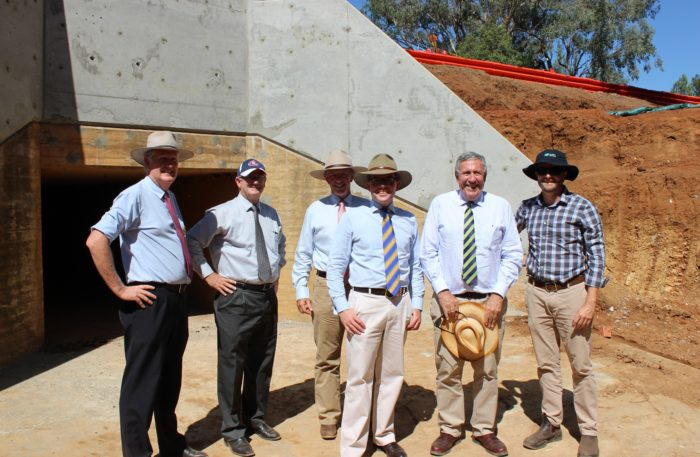 MINISTER IMPRESSED WITH GWYDIR SHIRE COUNCIL'S ROAD WORK