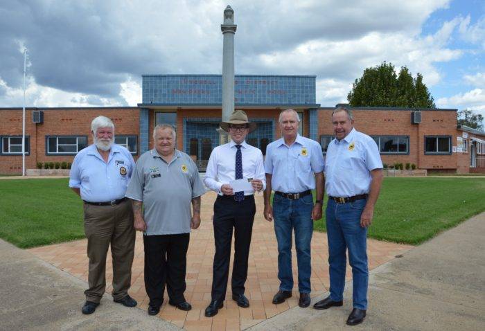FUNDING FOR CAMERA TO STAND GUARD AT INVERELL WAR MEMORIAL