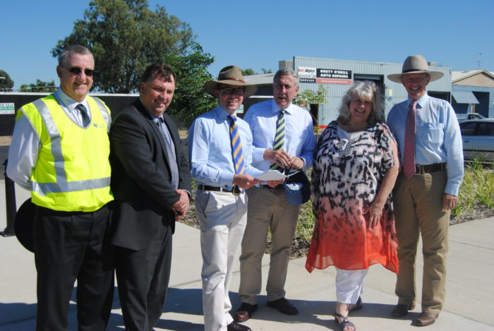 MORE FUNDING FOR MOREE ROADS