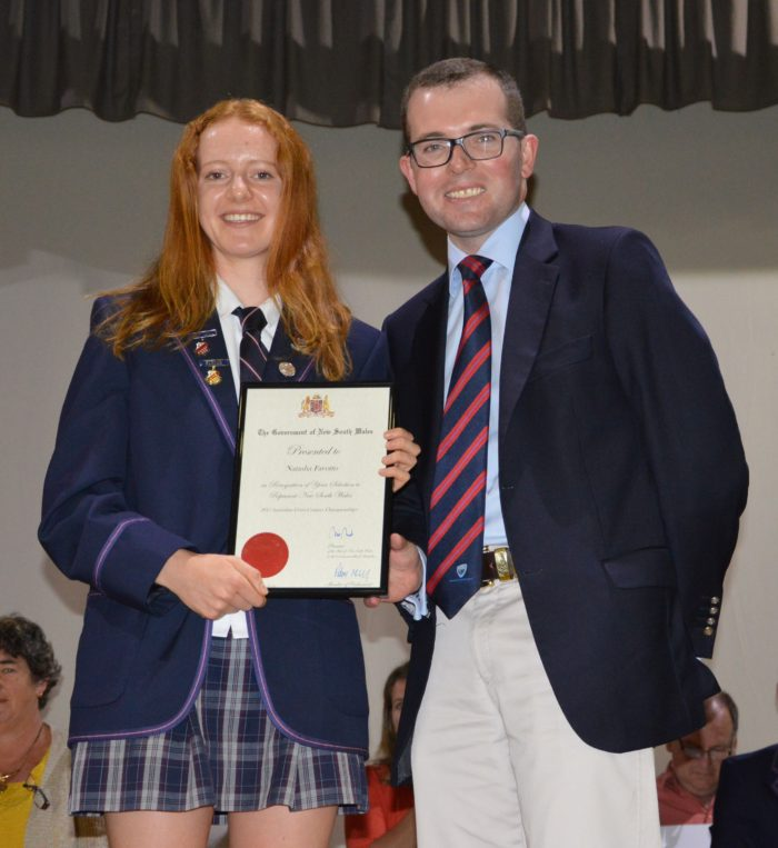 ARMIDALE LONG DISTANCE RUNNER RECEIVES STATE RECOGNITION