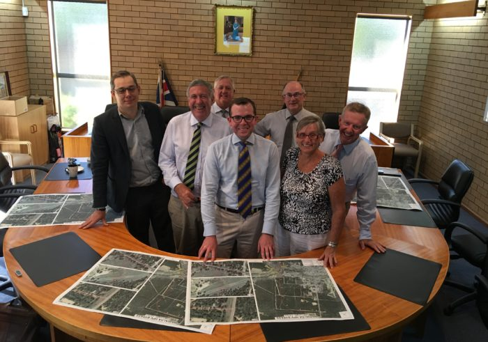 ROADS MINISTER BRIEFED ON WARIALDA HEAVY VEHICLE BYPASS PLANS