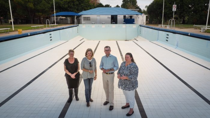 $3,000 FOR NEW STARTING BLOCKS AT BINGARA POOL