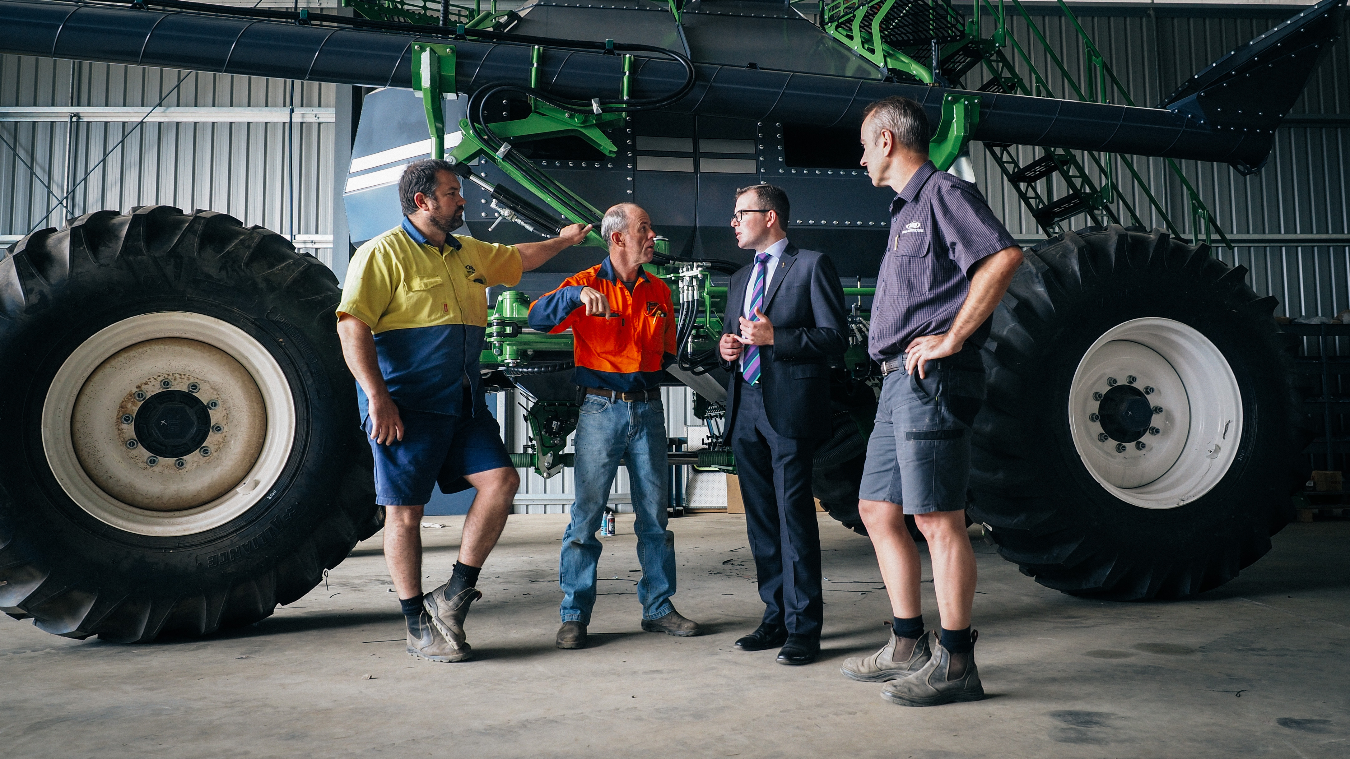 boss engineering inverell scores a 495 000 boost to grow on adam