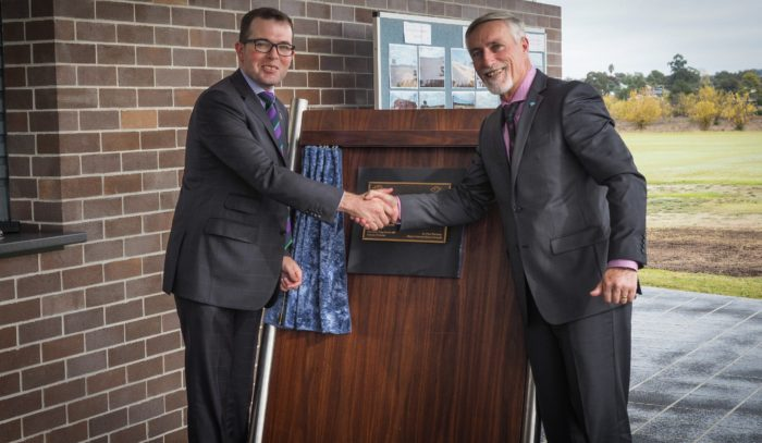 $1.2 MILLION UPGRADE OF INVERELL'S CAMERON PARK OFFICIALLY OPENED