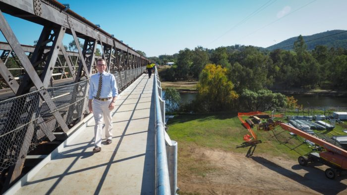WORK GOING AHEAD ON BINGARA'S GWYDIR RIVER & HALLS CREEK BRIDGES
