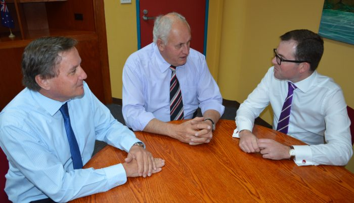 COUNCIL ADMINISTRATOR WELCOMED TO THE REGION BY LOCAL MP