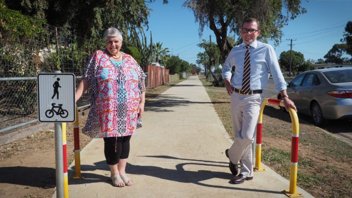 $51,750 TO EXTEND MOREE'S CYCLEWAY AND FOOTPATH NETWORK