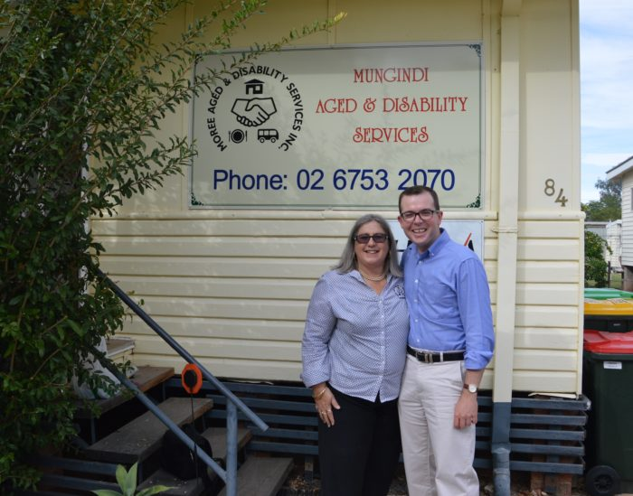 $24,000 FOR MUNGINIDI HOME SUPPORT SERVICE UPGRADE