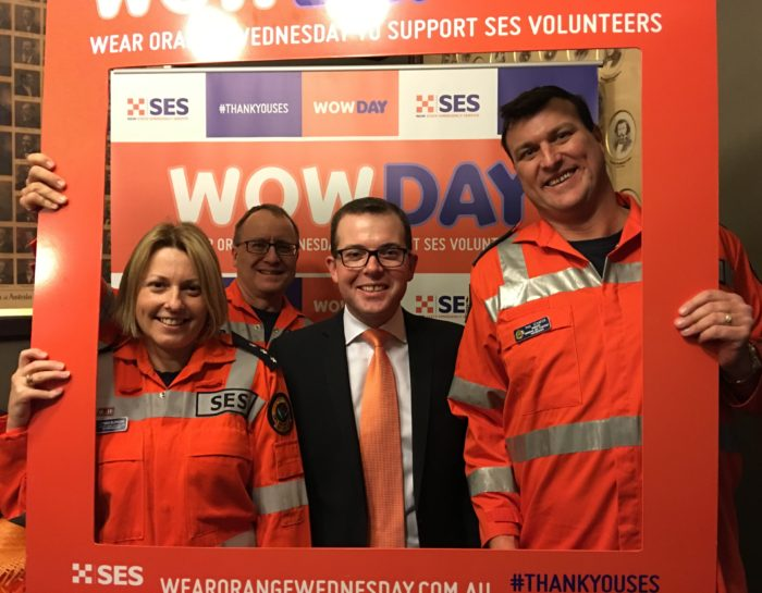 'WEAR ORANGE WEDNESDAY' TO SUPPORT OUR SES VOLUNTEERS