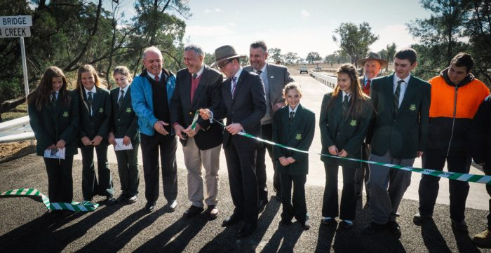 TRANSPORT BOTTLENECK RESOLVED WITH NEW $1.45M ABINGTON BRIDGE
