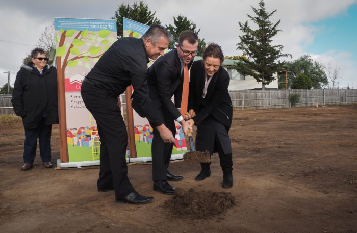 BREAKING GROUND ON HOUSING AFFORDABLE FOR ALL IN ARMIDALE