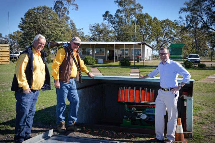 OLYMPIC-CLASS SHOOTING AT MOREE WITH $10,120 STATE GRANT