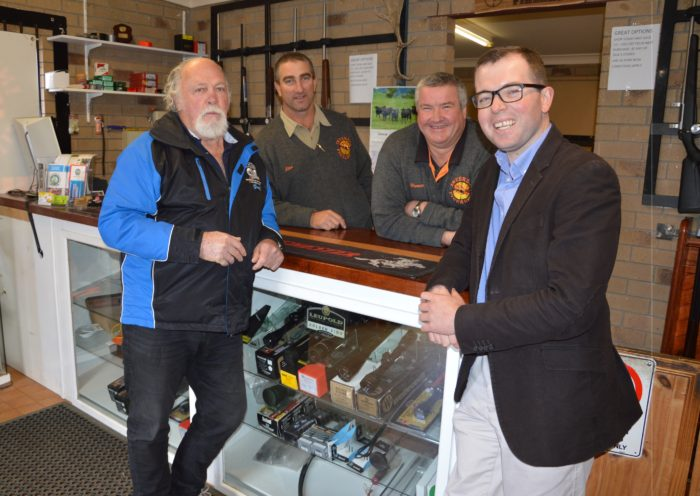 RANGERS HUNTING AND SHOOTING CLUB SCORE A BULLSEYE WITH GRANT