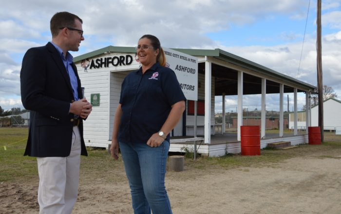 ASHFORD'S LITTLE ROOSTERS CROW ABOUT FUNDING FOR OFFICIALS
