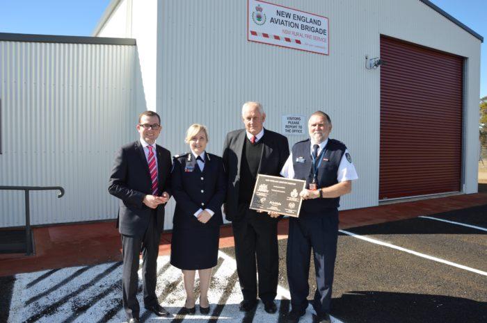 NEW RFS REGIONAL AVIATION FIREFIGHTING AIRBASE OPENED