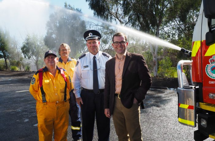 NEW 'CANNON' TANKER FOR WARIALDA RURAL FIRE SERVICE BRIGADE