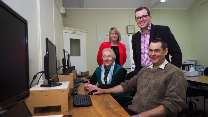 MORE FUNDS AVAILABLE FOR GUYRA ADULT LEARNING ASSOCIATION