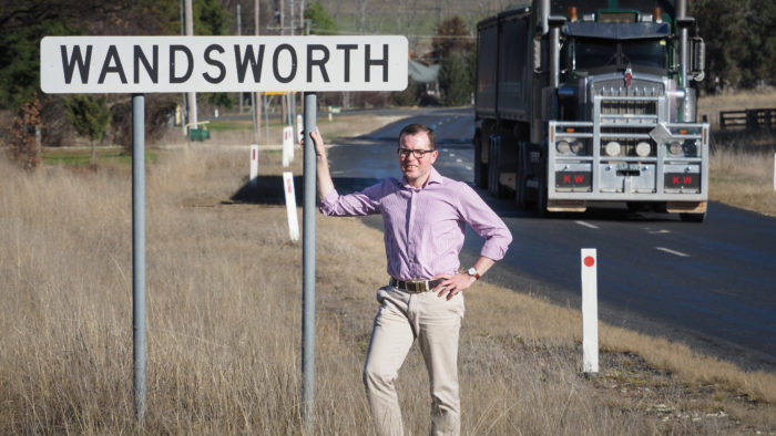 $260,000 FIX FOR DANGEROUS SECTION OF GUYRA-TINGHA ROAD