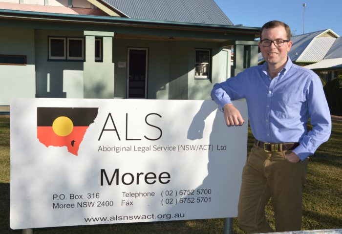 BOOST TO MOREE LEGAL AID SERVICES