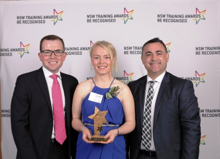 INVERELL'S COURTNEY HARRISON NAMED NSW APPRENTICE OF THE YEAR