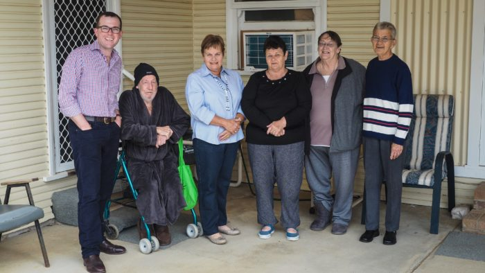 RAMP TO PROVIDE BETTER ACCESS FOR MOREE'S MOREENA UNITS RESIDENTS