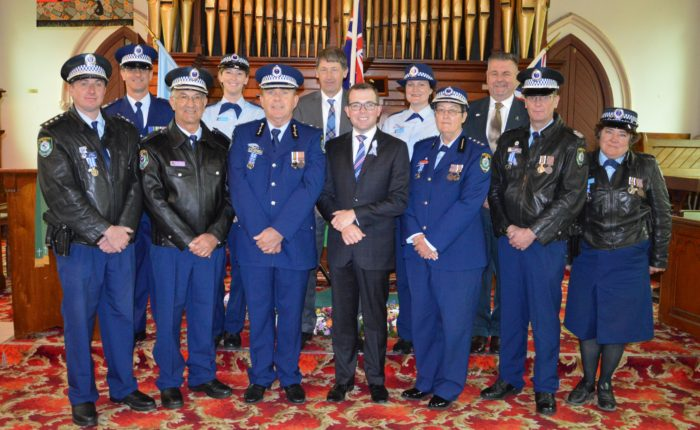 REGION'S POLICE & LEADERS MARK NATIONAL POLICE REMEMBRANCE DAY