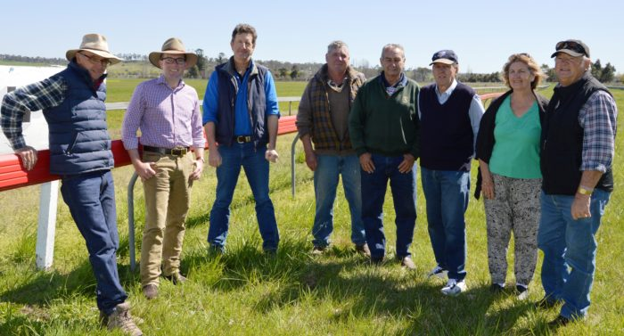 GLEN INNES JOCKEY CLUB ON A WINNER IN WAR ON WEEDS
