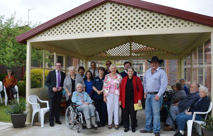 PRAISE FOR COMMUNITY CARE AND CONTRIBUTION AT McMAUGH GARDENS