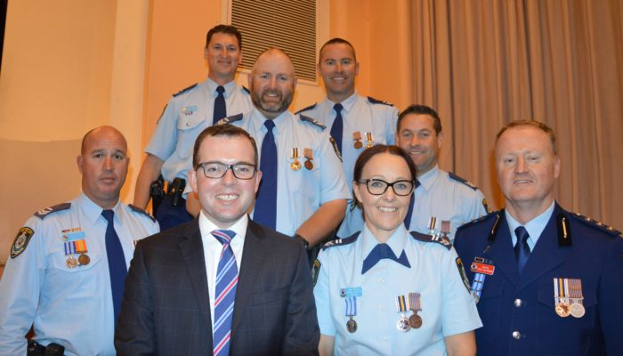 GLEN INNES POLICE COP A CEREMONIAL PARADE OF HONOUR