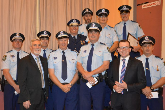 INVERELL DISTRICT POLICE COP A CEREMONIAL PARADE OF HONOUR