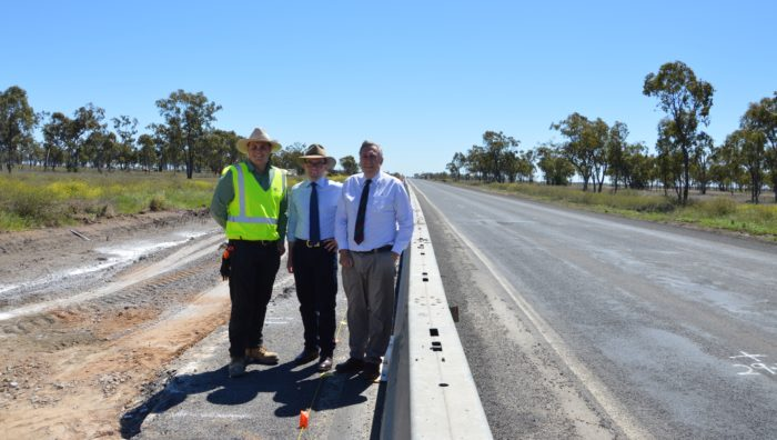 PASSING ON THE GOOD NEWS ABOUT NEWELL HIGHWAY UPGRADE WORKS