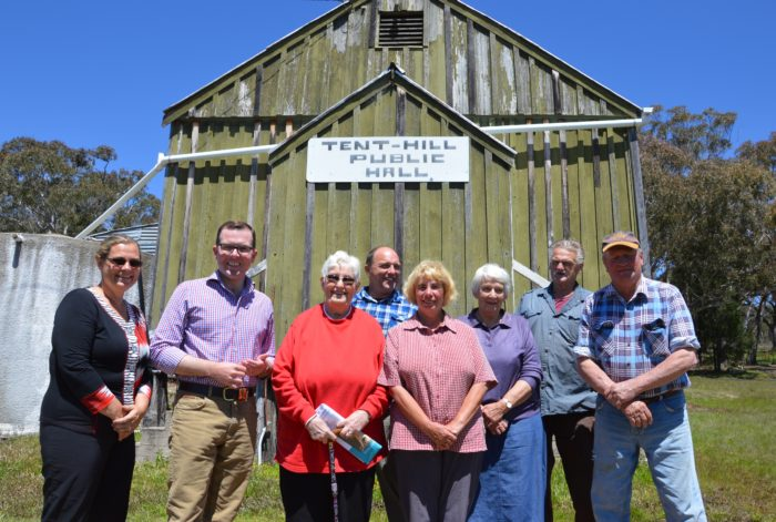 TENT HILL PUBLIC HALL GETS A TOP-UP