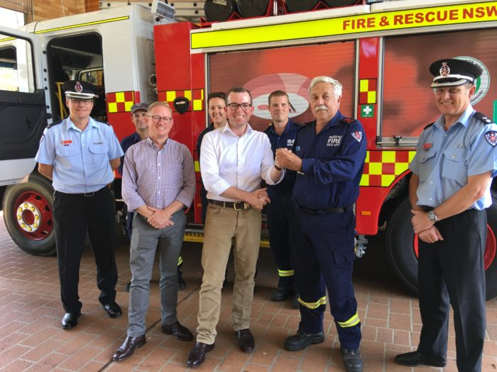NEW FIRE TRUCK HITS THE ROAD AT ALSTONVILLE