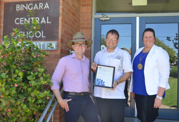 BINGARA CENTRAL REALLY DIGS FUNDING FOR A BUSH TUCKER GARDEN