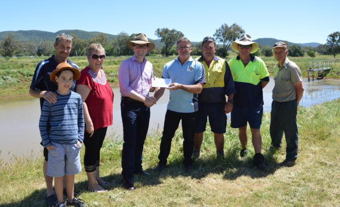 $4,479 PUTS SOME AIR IN THE TANK FOR BINGARA FISH HATCHERY PROJECT